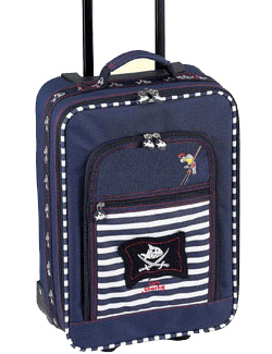 captain sharky rolling suitcase