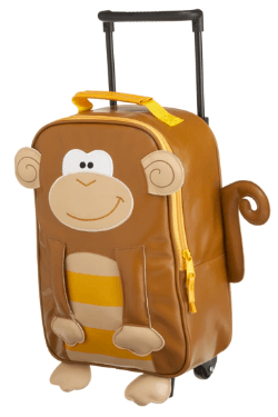stephen joseph rolling monkey backpack ($26)