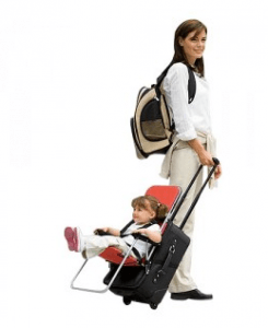 Ride on carry on luggage for toddlers as seen on Shark Tank