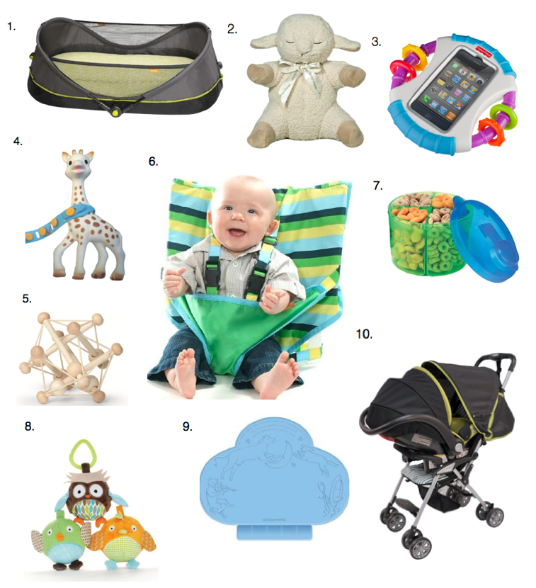 Best Travel Items For Toddlers