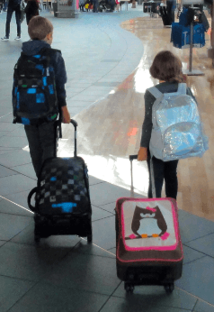 traveling with kids – when the wheels come off the bus