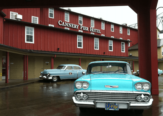 cannery pier hotel astoria with kids