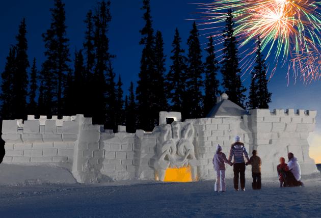 world's largest snow castle