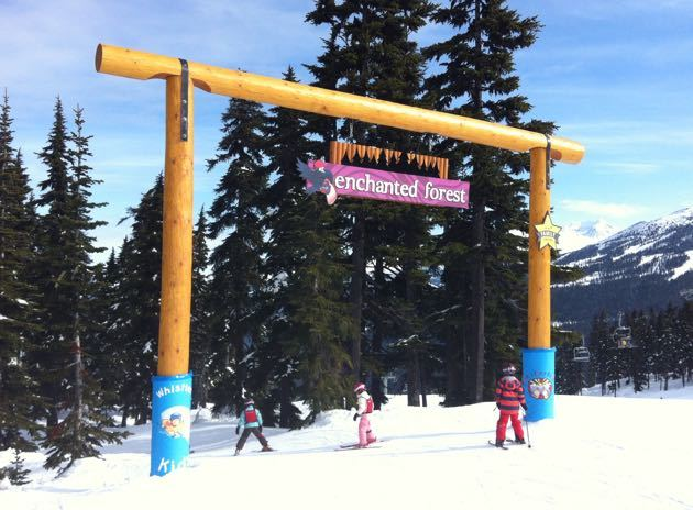 Whistler Kids Features