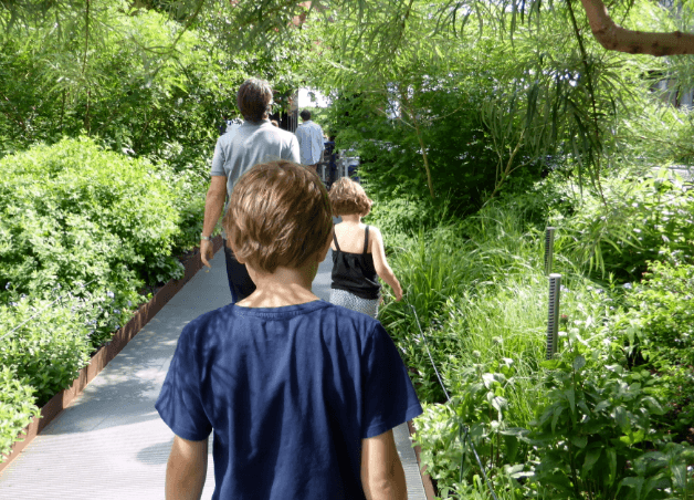 The High Line with Kids