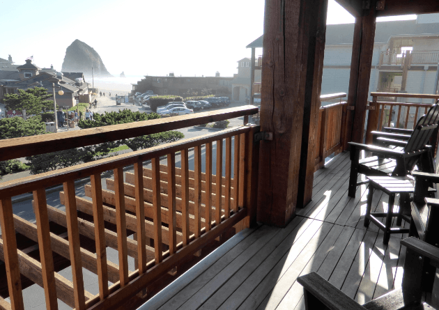 Balcony Surfsand Resort