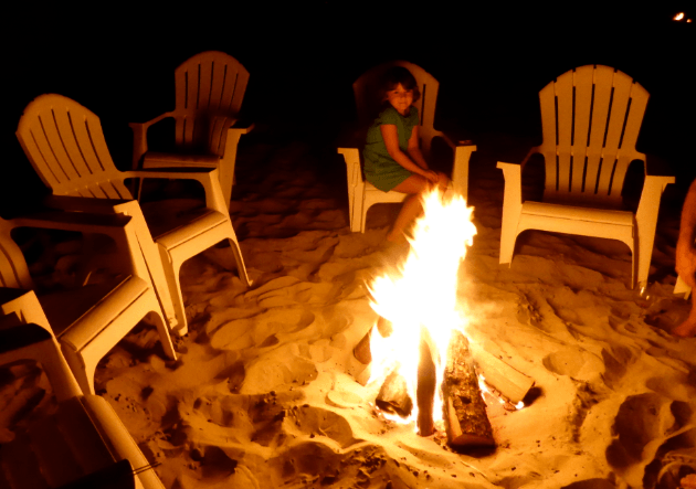 Cannon Beach Bonfire