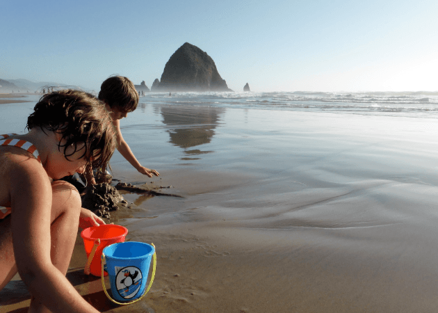 family friendly getaway – the surfsand resort, cannon beach