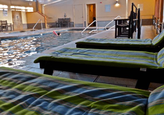 Indoor Pool Surfsand Resort