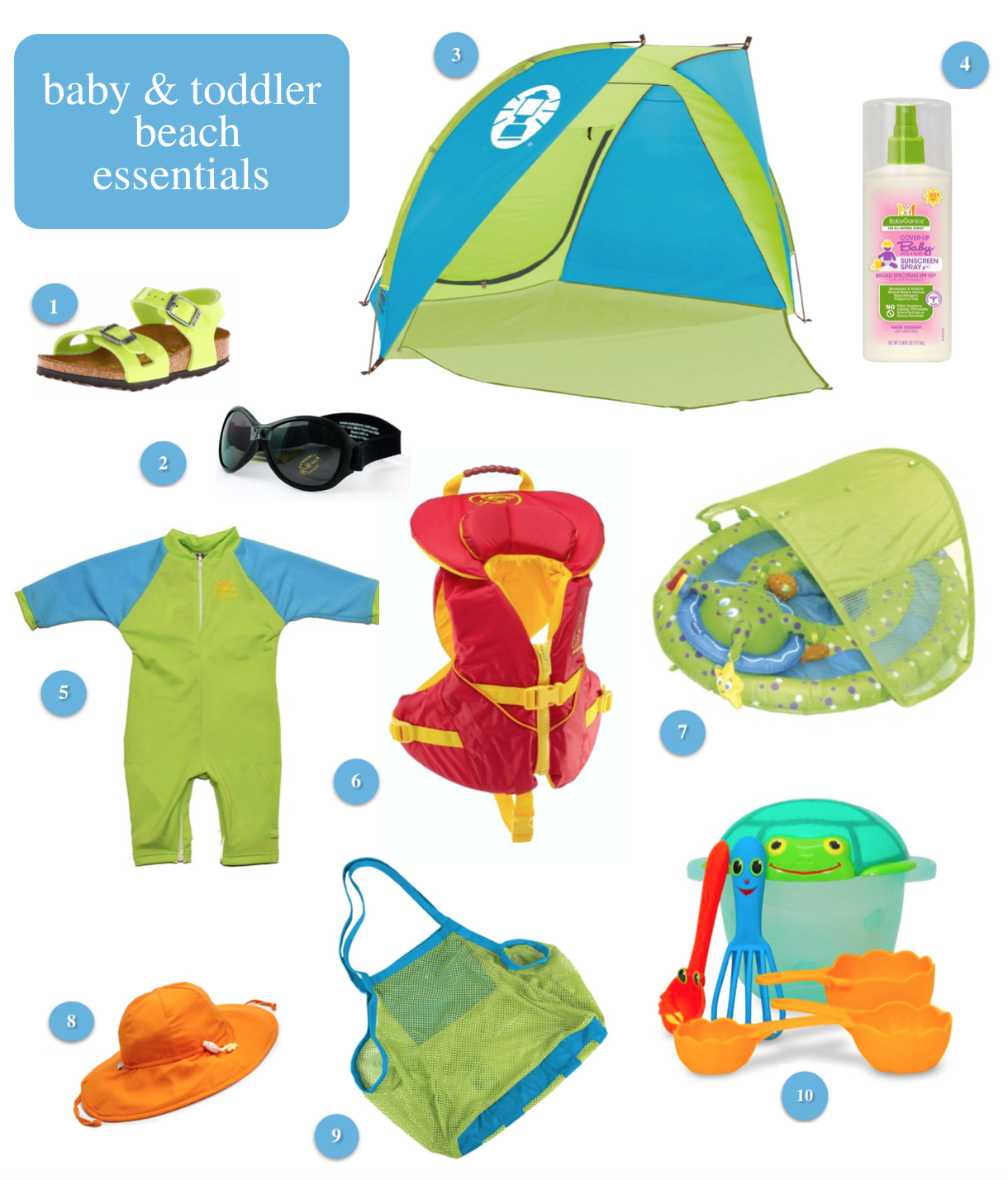 Taking your baby or toddler on a trip to the beach check out this