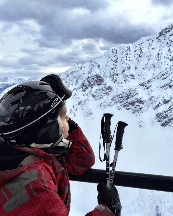 Kicking Horse Mountain, BC – with Kids