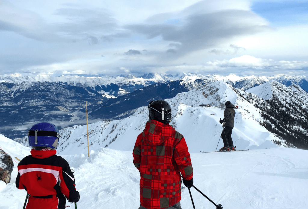 Ski B.C. with toddlers and kids