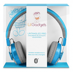 kids wireless bluetooth headphones by LilGadgets