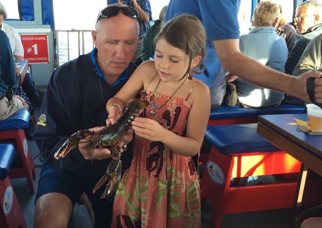 Lobster Cruise with Kids New Brunswick