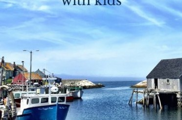 peggy's cove lighthouse, nova scotia – with kids