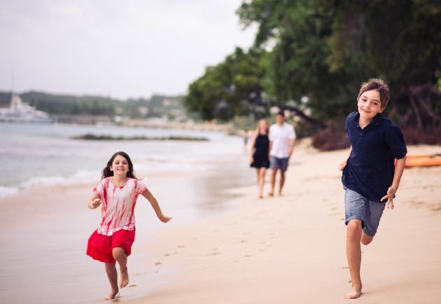 Best Beach for Toddler and Kids Barbados