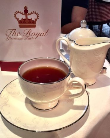 Afternoon Tea in London – with Kids