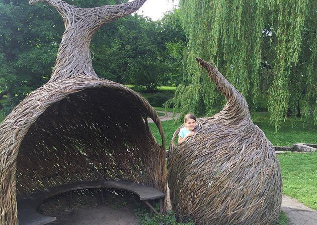 Oslo Botanical Gardens with Kids