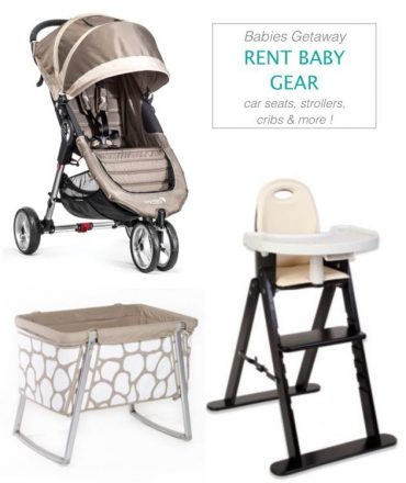 Baby Equipment Rentals – Make Baby and Toddler Travel Easier