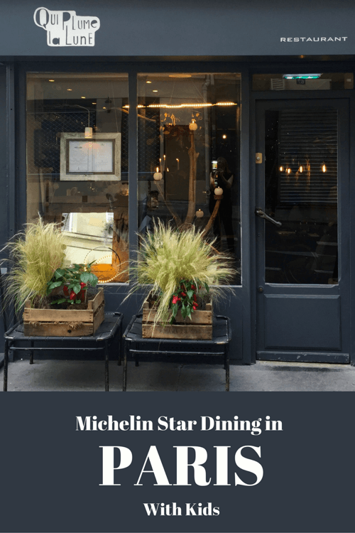 Michelin Star Dining with Kids - Paris