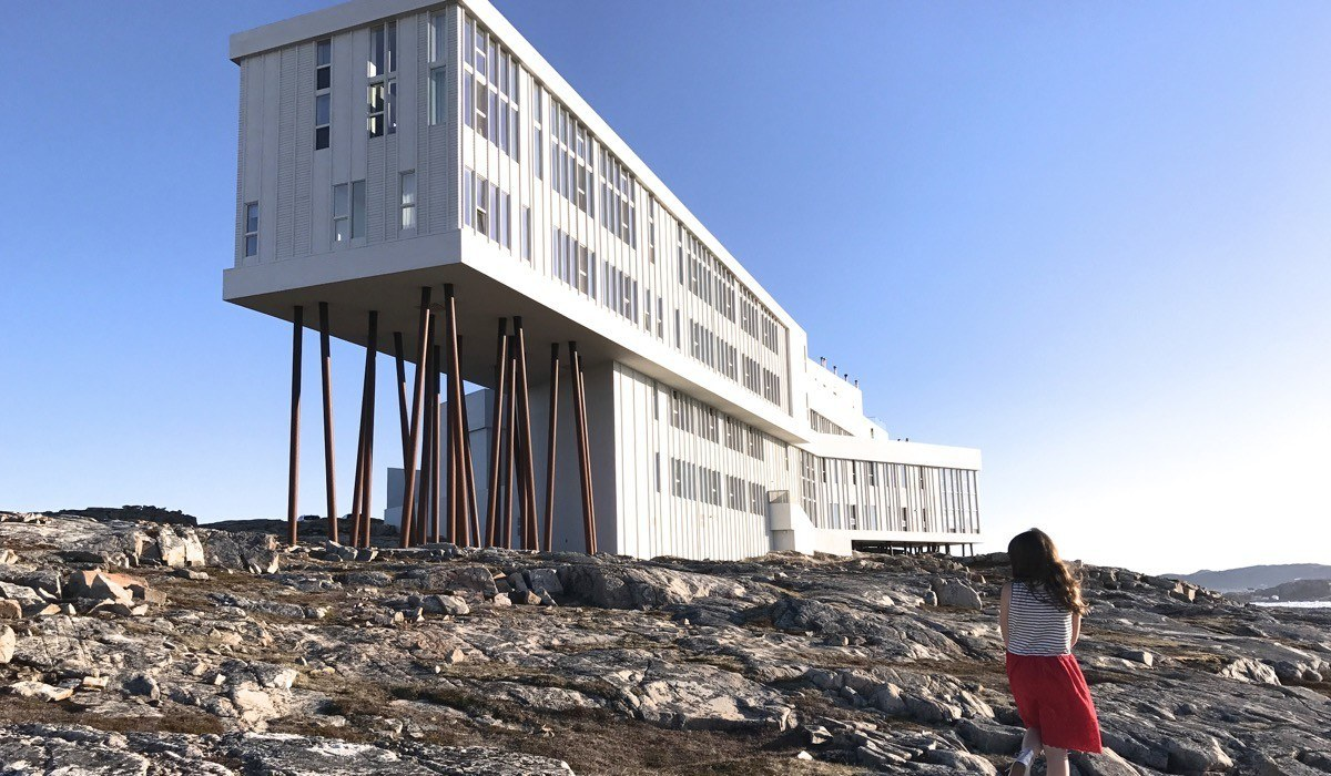 Once In A Lifetime At The Fogo Island Inn Pint Size Pilot Family Travel Blog