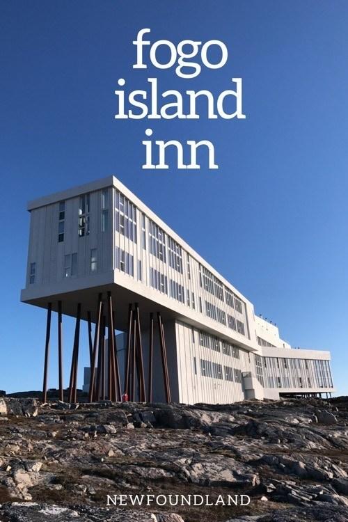 Fogo Island Inn - Fogo Island Newfoundland